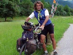 Pablo Garcia en Suiza - Vuelta al mundo en bicicleta