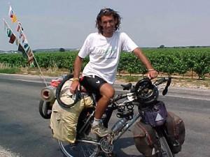 Pablo Garcia en Francia - Vuelta al Mundo en Bicicleta