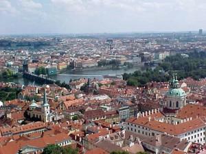 Praga desde la torre