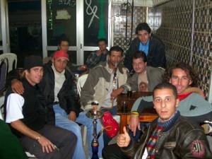 En el bar