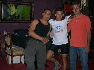 Con Luis y Niko
