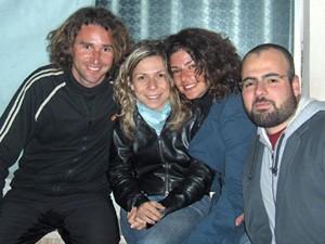 Con Toto y Linda