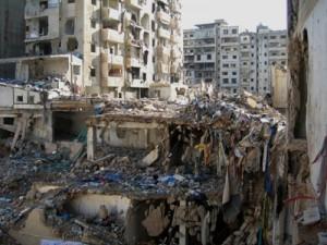Zona bombardeda - Beirut