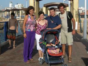 09 - Con Fran y familia
