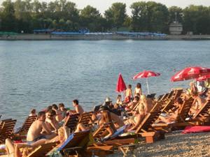 Las playas del Sava