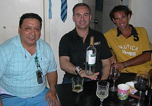 Con Hipolito y Iuri