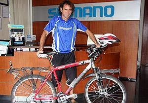 Pablo Garcia - Pedaleando el Globo