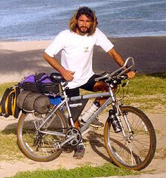 La bicicleta 1 y sus 42 kilos