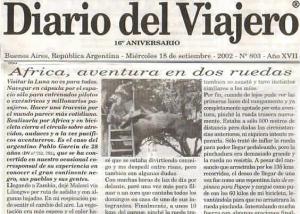 Diario del Viajero