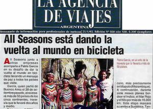Revista La agencia de viajes