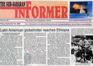The Sub-Saharan Informer