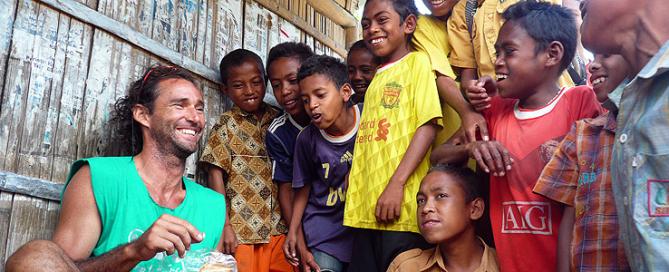 Pablo Garcia en Indonesia
